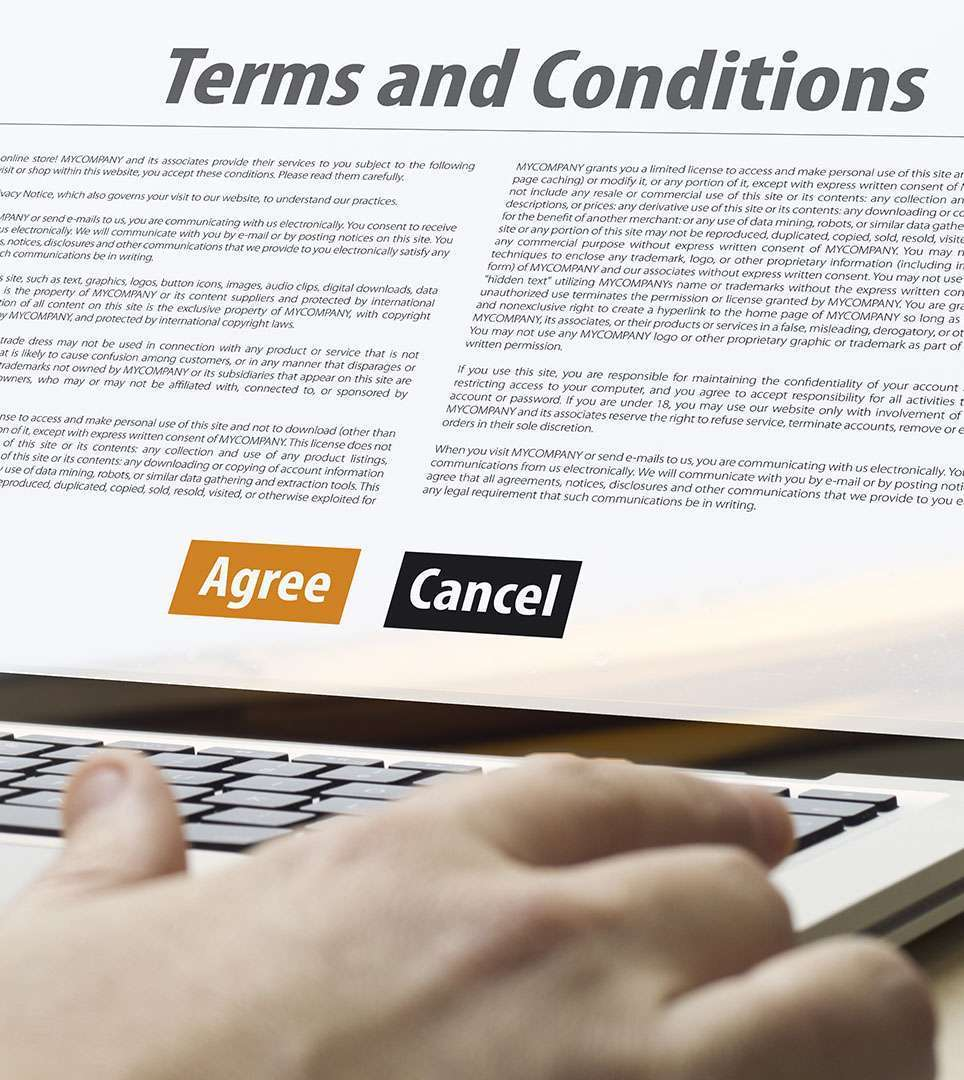 TERMS AND CONDITIONS FOR ASTORIA RIVERSHORE MOTEL